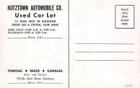 1953kutztownautomobilecompanypontiacbuickcadillaccarlotkutztownpennsylvania2